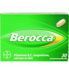 Berocca 30 comprimés pelliculés à avaler
