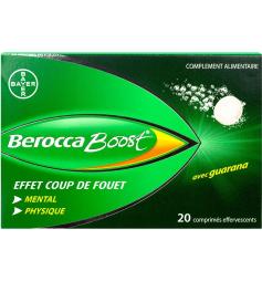BeroccaBoost sans sucre 20 comprimés