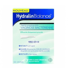 Hydralin Gel vaginal Balance 7x5ml