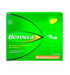 Berocca 60 comprimés pelliculés à avaler