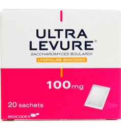 Ultra Levure 100mg 20 sachets