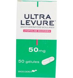 Ultra Levure 50mg 50 gélules
