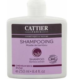 Cattier Shampooingmoelle de bambou cheveux secs 250ml