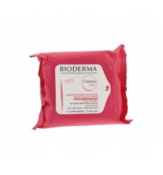 Bioderma Créaline H2O démaquillant dermatologique 25 lingettes
