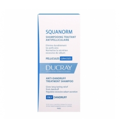 Ducray Squanorm pellicules grassesdémangeaisons 200ml