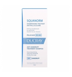 Ducray Squanorm shampoingspellicules sèches 200ml