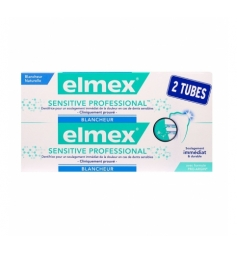 Elmex Dentifrice Sensitive pro blancheur 2x75 ml