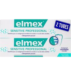 Elmex Dentifrice Sensitive Professional 2x75ml