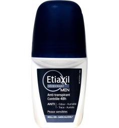 Etiaxil Men déodorant anti-transpirant contrôle 48h 50ml