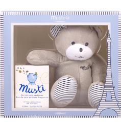 Mustela Coffret Musti eau de soin 50ml + peluche