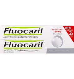 Fluocaril Dentifrice bi-fluoré blancheur 2x75ml