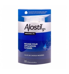 Alostil 5% mousse application cutanée 3x60ml