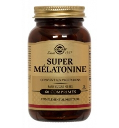 SOLGAR SUPER MELATONINE 60CPR