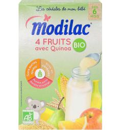 Modilac 4 fruits et Quinoa Bio dès 6 mois 230g