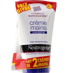 Neutrogena Crème mains concentrée lot2x50ml