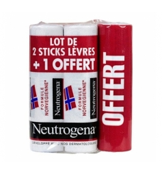 Neutrogena Stick lèvres 2+1 offert
