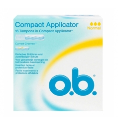 OB 16 tampons Compact avec applicateurs normal