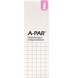 Désinfectant antiparasitaire A-Par aérosol 200ml