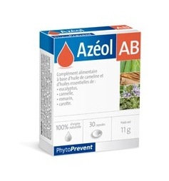 AZEOL PILEJE AB CAPS 30