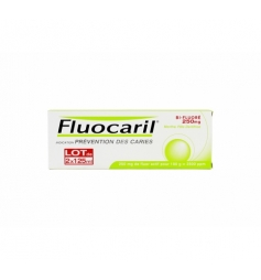 Fluocaril Dentifrice bi-fluorépâte menthe 2x125ml