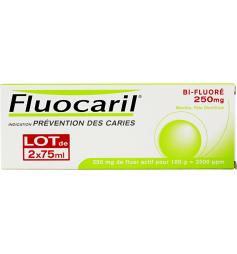 Fluocaril Dentifrice bi-fluorépâte menthe 2x75ml