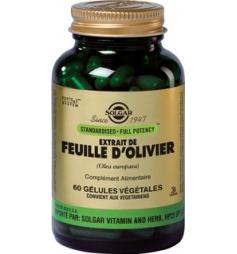 SOLGAR EXTRAIT DE FEUILLE D'OLIVIER