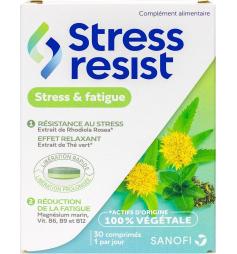 Stress Resist fatigue bi-couche 30 comprimés