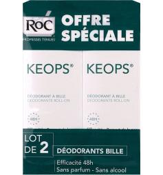 Keops déodorant à bille 48h 2x30ml