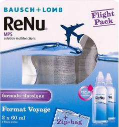 Renu Solution multifonctions Spécial Flight Pack 2x60ml