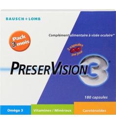 PréserVision3 180 capsules (3 mois)