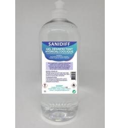 Gel Désinfectant Hydroalcoolique 1 Litre