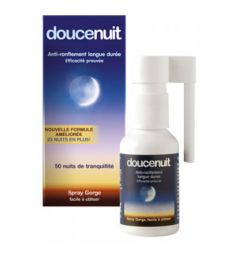 Douce Nuit spray gorge anti-ronflement 23,5 ml