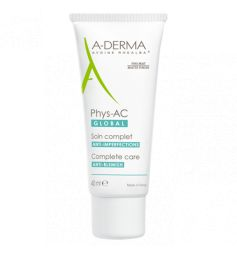 A-DERMA - PHYS-AC GLOBAL - Soin Complet Anti-Imperfections, 40ml