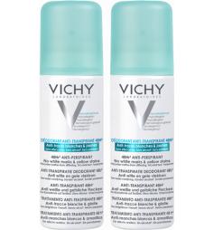 VICHY - Déodorant Anti-transpirant Anti-traces 48h, 2x125ml