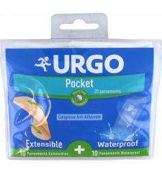 Urgo Pocket 20 Pansements Anti-Adhérents
