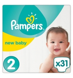 Pampers New Baby T2 31 Couches