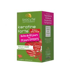 BIOCYTE KERATINE FORTE FULL SPECTRUM
