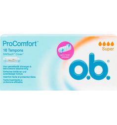 OB 16 tampons ProComfort super