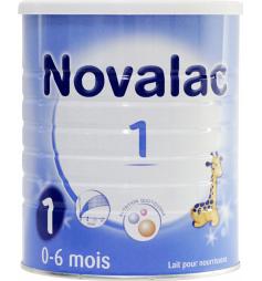 Novalac 1er âge laitpoudre bébé 0-6M 800g