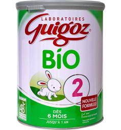 Guigoz 2ème âge lait croissance 6 à 12 mois 800g