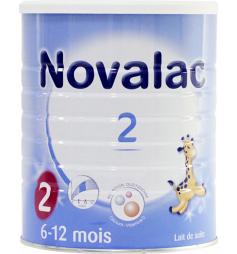 Novalac 2ème âge laitpoudre bébé 6-12M 800g