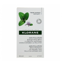 Klorane Anti-pollution shampooing détox 200ml