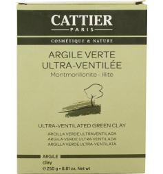 Cattier Argile verte ultra-ventillée 250g