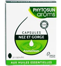 Phytosun Aromadoses nez& gorge 30 capsules