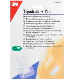 Tegaderm + Pad pansement imperméable 9cm x 15cm (5 pansements imperméables)