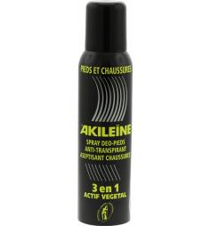 Akiléine Spray noir3en1 pour pieds et chaussures 150ml
