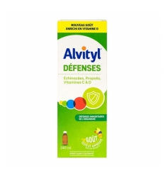 Alvityl Défenses sirop goût multifruits 240ml