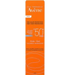 Avène Fluide solaire sans parfum SPF50+ 50ml